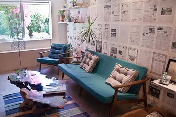 Idéias DIY para decorar paredes vazias 007