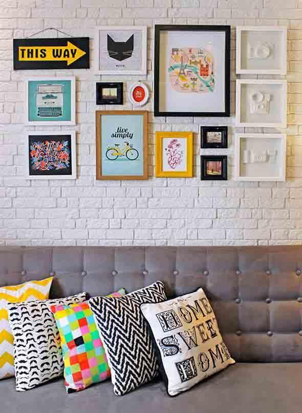 Idéias DIY para decorar paredes vazias 010