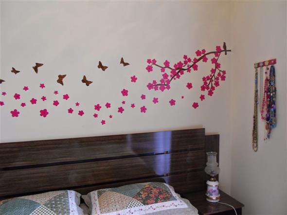 Idéias DIY para decorar paredes vazias 011