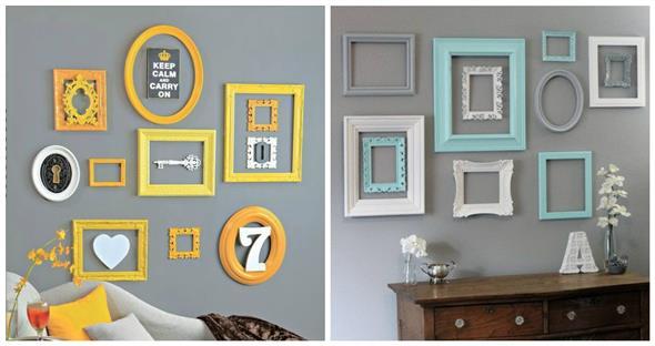 Idéias DIY para decorar paredes vazias 015