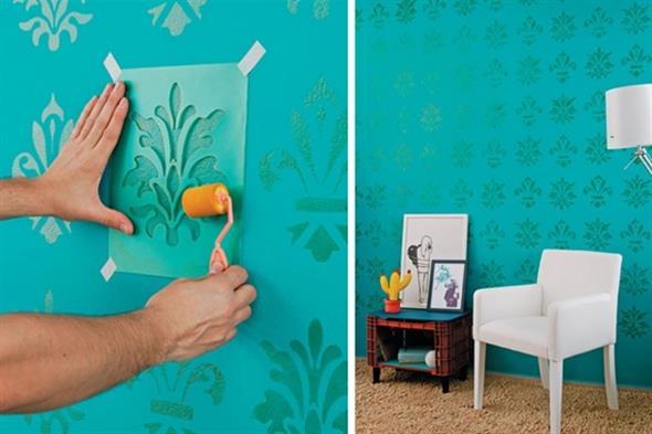 Idéias DIY para decorar paredes vazias 017