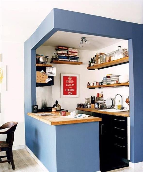 Pintura para separar pequenos espaços 019
