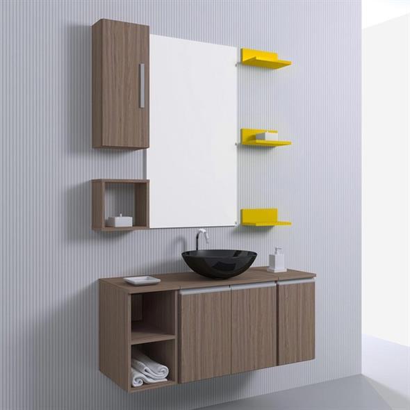 Prateleiras e nichos para banheiro 010