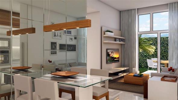 decoração para apartamento conjugado 010
