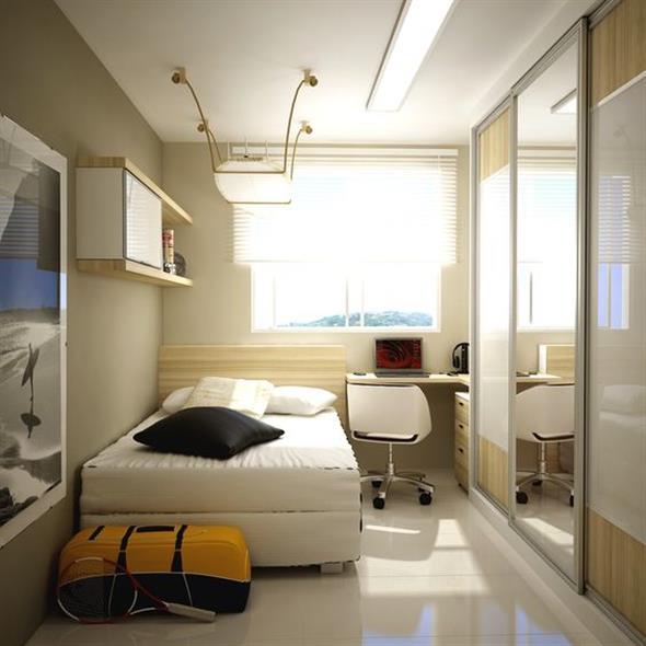 decoração para apartamento conjugado 012