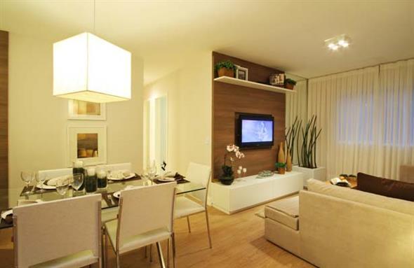 decoração para apartamento conjugado 018