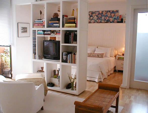 decoração para apartamento conjugado 020