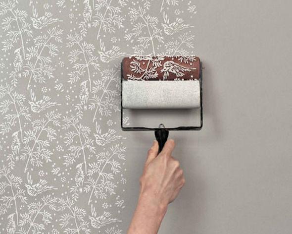 parede decorada vazia