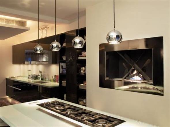 Lustre para bancada de cozinha 012