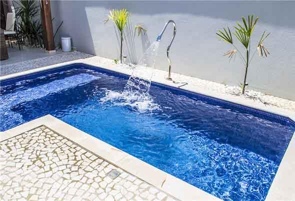 Modelos de piscinas pequenas for Modelos gresite piscinas
