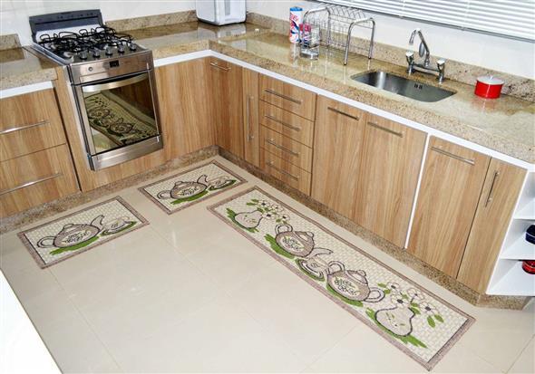 Modelos de tapetes para cozinha 001
