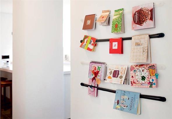 Prateleiras criativas para livros e revistas 003