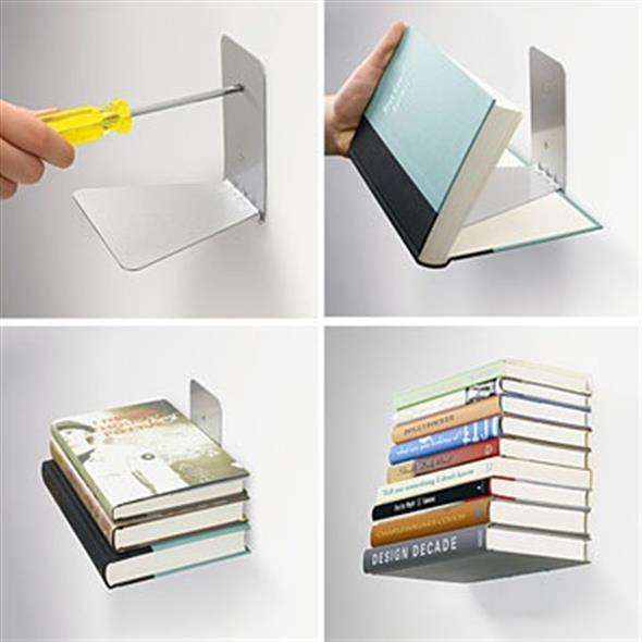 Prateleiras criativas para livros e revistas 007