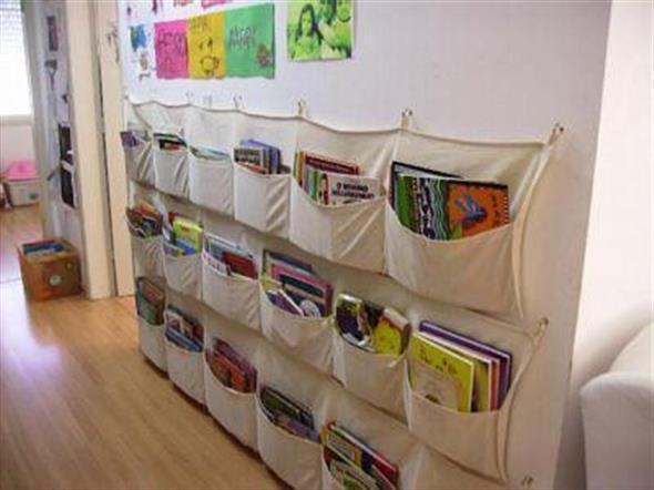 Prateleiras criativas para livros e revistas 008