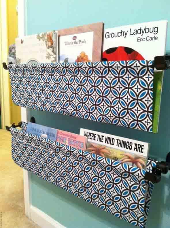 Prateleiras criativas para livros e revistas 009