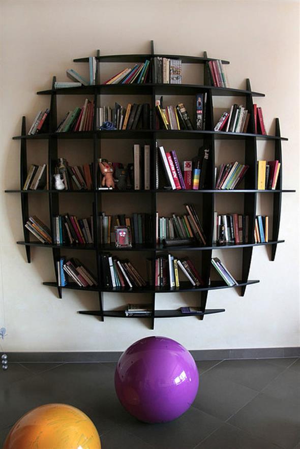 Prateleiras criativas para livros e revistas 014