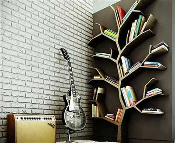 Prateleiras criativas para livros e revistas 016
