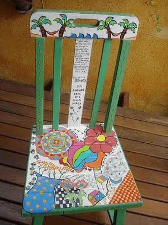 Renovar cadeiras velhas 013