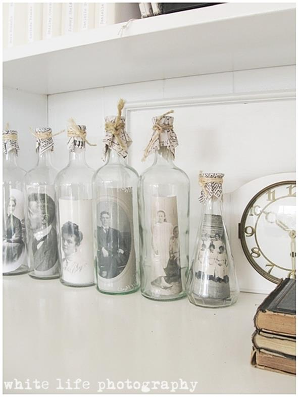 decoração com garrafas 015