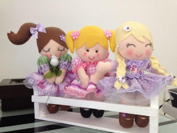 Adesivos Personalizados Infantil De Parede ~ 25 ideias de artesanato com feltro