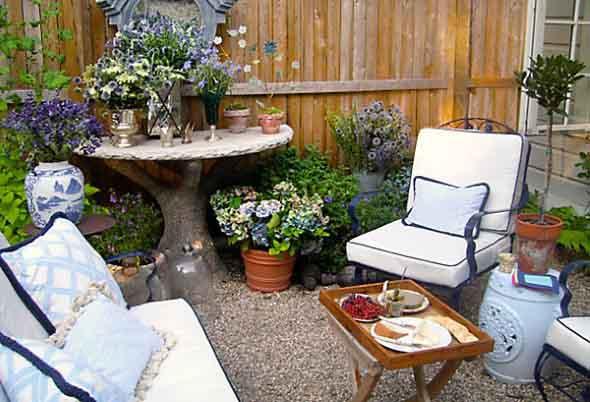 Decoração rústica para seu quintal 001
