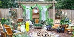 Decoração rústica para seu quintal 012