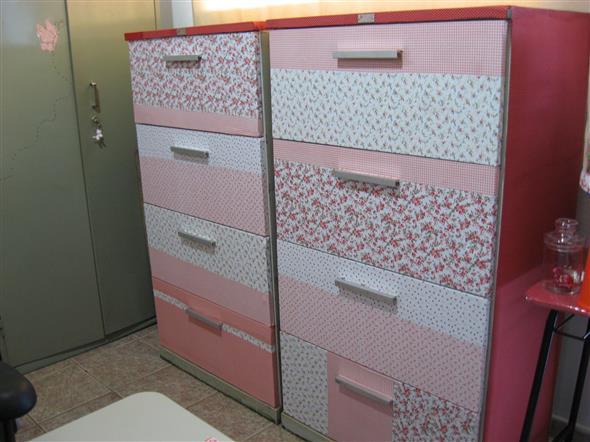 Forrar móveis com tecido 001
