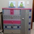 Forrar móveis com tecido 003
