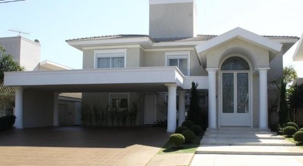 Frente de casas charmosas e requintadas 007