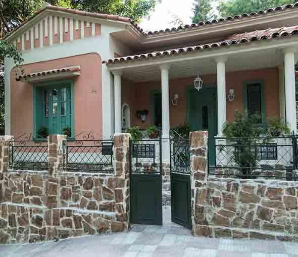 Frente de casas charmosas e requintadas 011
