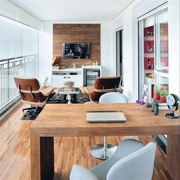 Home Office na varanda 001