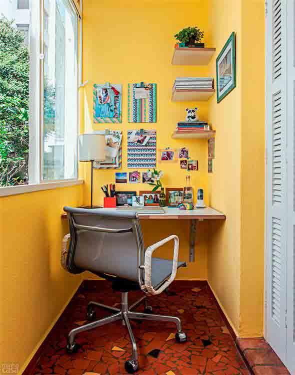 Home Office na varanda 004