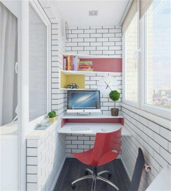 Home Office na varanda 005
