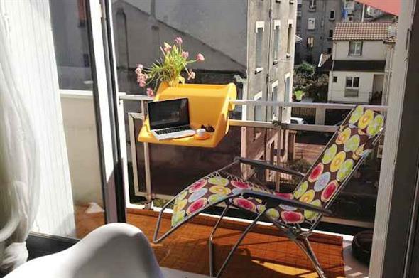 Home Office na varanda 009