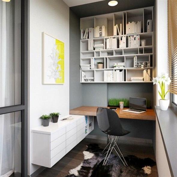 Home Office na varanda 014