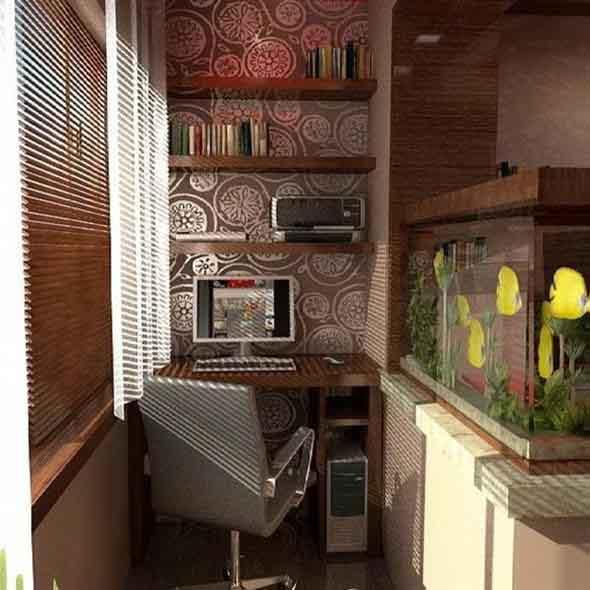 Home Office na varanda 016