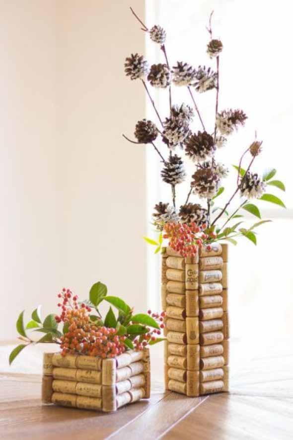 Idéias criativas de decoração com rolhas 016