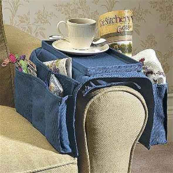 Ideias criativas para reaproveitar jeans usado 005