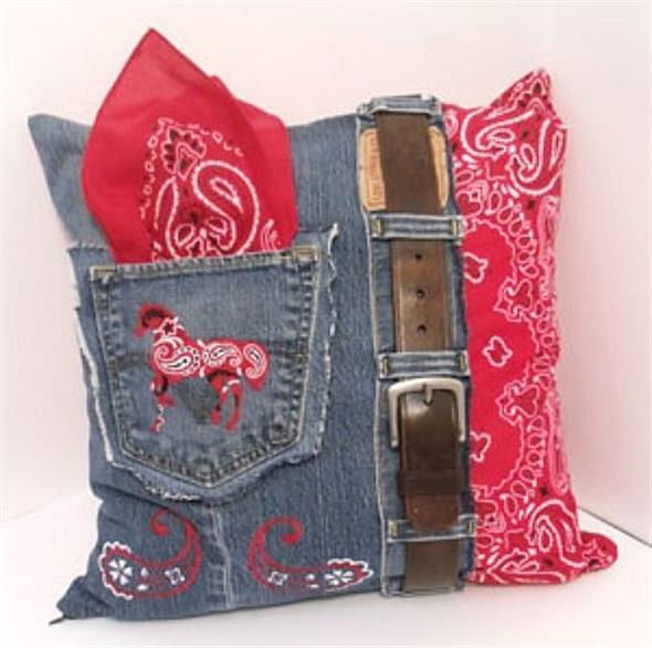Ideias criativas para reaproveitar jeans usado 006
