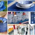 Ideias criativas para reaproveitar jeans usado 011