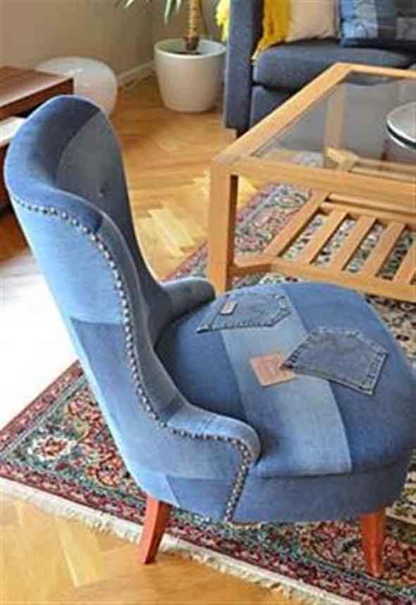 Ideias criativas para reaproveitar jeans usado 015