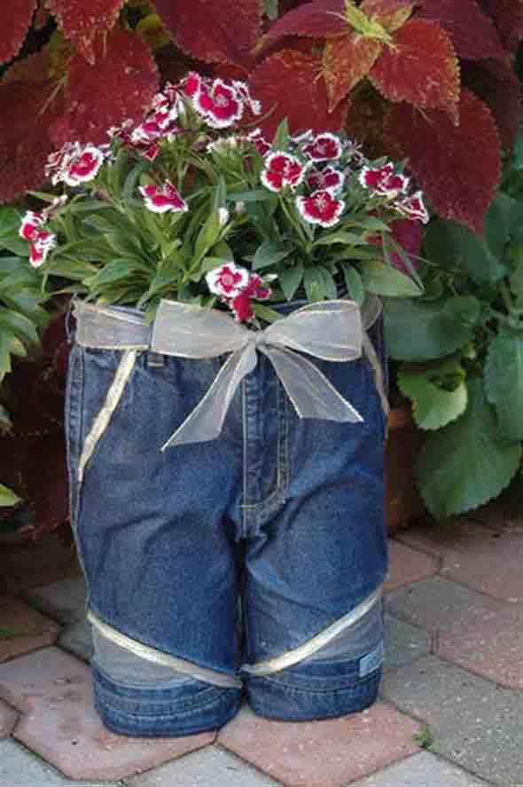 Ideias criativas para reaproveitar jeans usado 018