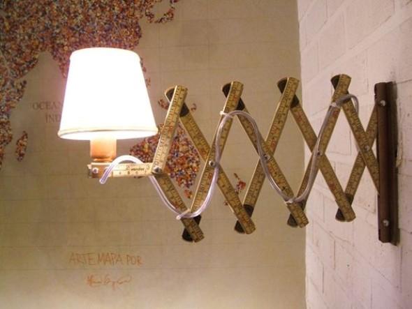 Luminária rústica artesanal 018
