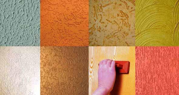V rios tipos de texturas para parede - Rodillos para pintar paredes lisas ...