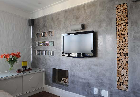 V rios tipos de texturas para parede - Tipos de pintura para paredes interiores ...