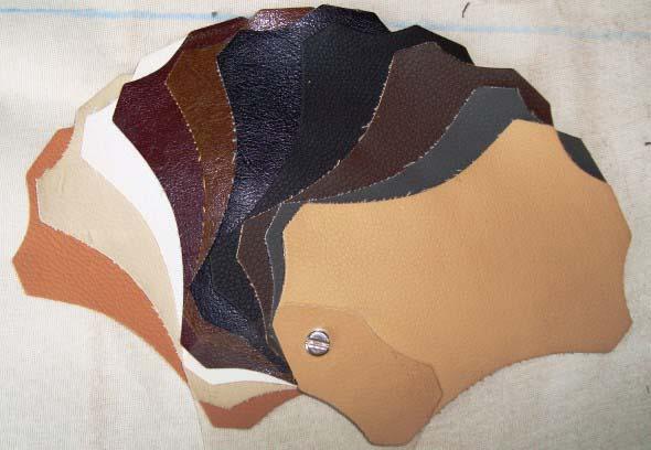 Ampla variedade de texturas no couríssimo.
