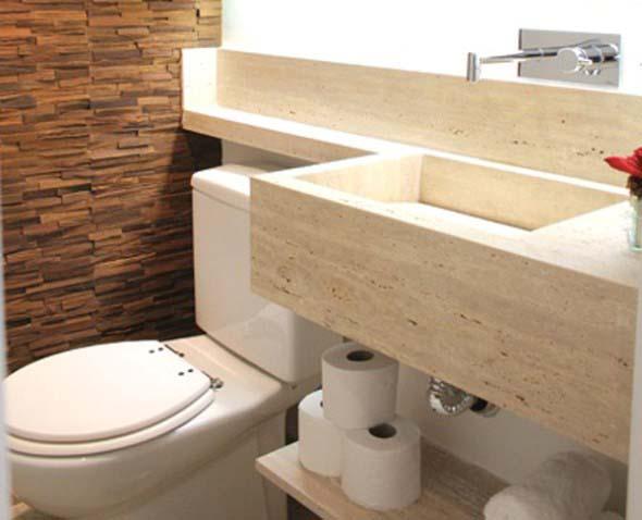 Tipos de cuba para banheiro -> Cuba Para Banheiro De Madeira