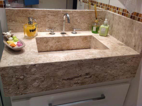 Tipos de cuba para banheiro -> Cuba Para Banheiro Celite
