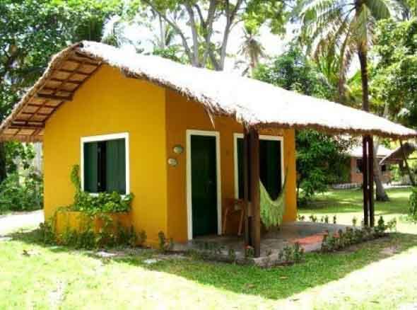 Decora o para casa de campo for Piedras jardin baratas
