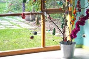Árvore de Natal artesanal, inspiração para seu lar.